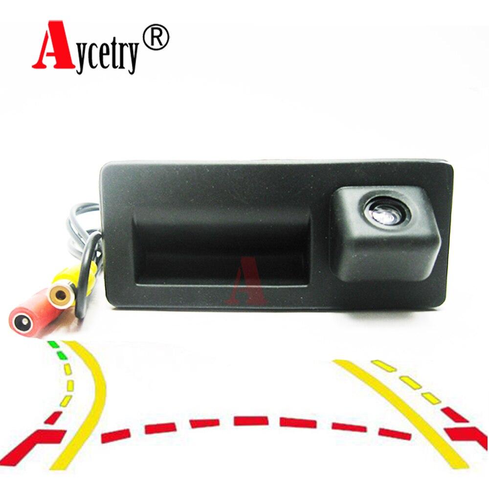 Aycetry! CCD HD Kofferbak Handvat Achteruitrijcamera voor Audi A4 A5 S5 Q3 Q5 voor VW Golf Passat Tiguan jetta Sharan Touareg B6 B7