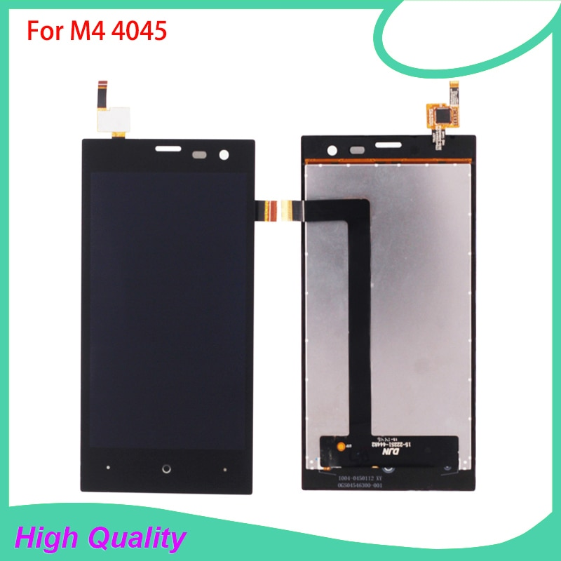 LCD Display Touch Panel For M4 SS4045 S4045 4045 Touch Screen Black Color 100% Tested Mobile Phone L