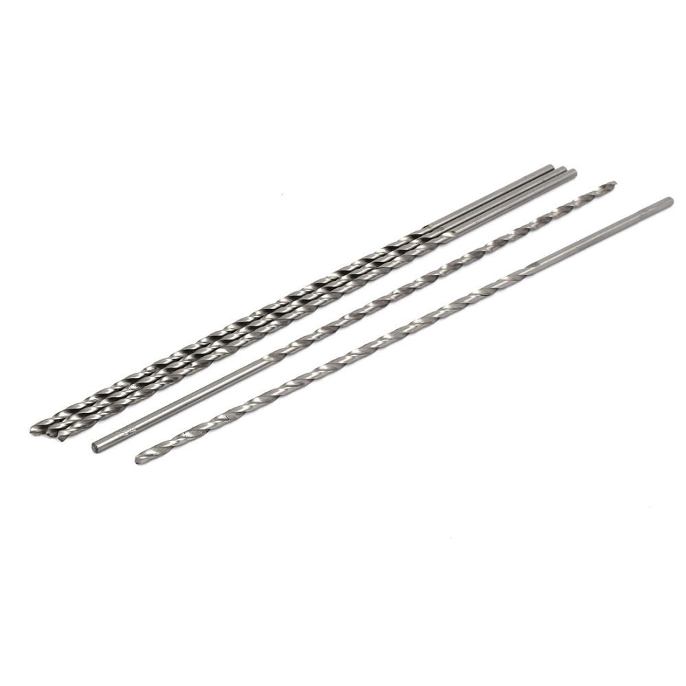 UXCELL 5Pcs 2.5-5.5mm HSS High Speed Steel Straight Shank Twist Drill Bits ,Drilling Tool  , DIY Electric Tools