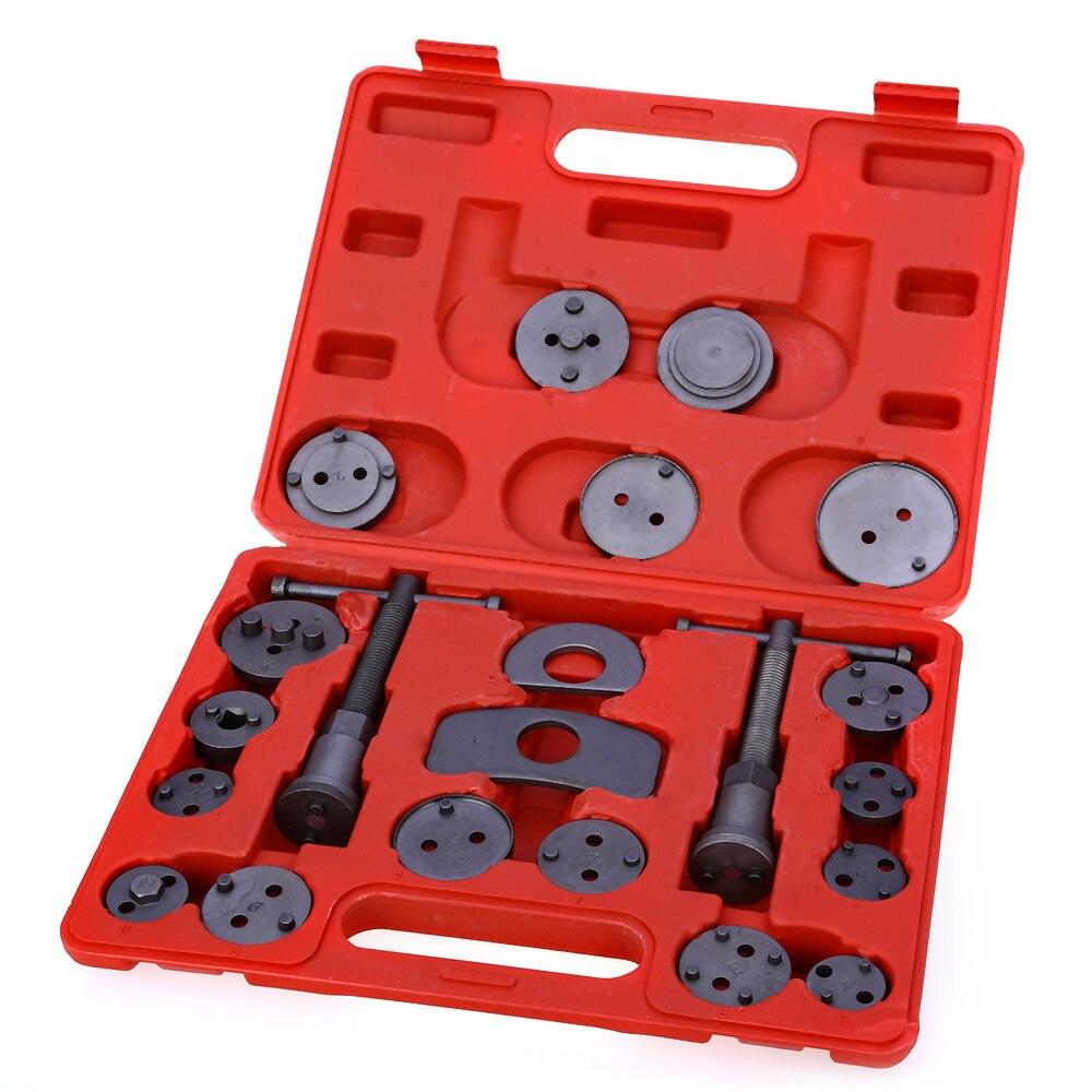 21 Uds pinza de freno de disco Universal, herramienta de rebobinado, pastillas de freno de repuesto, juego de herramientas para automóviles, herramientas de reparación de garaje