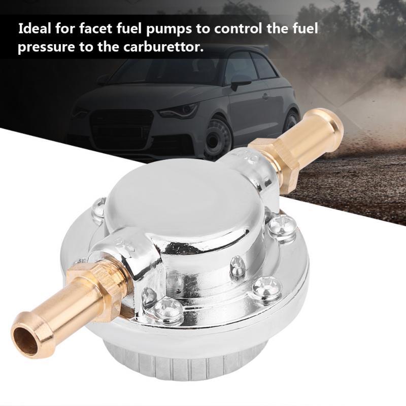 Calibrador de presión de Combustible Universal, 1/Kit, válvula de Control del actuador compatible con accesorios para el carburador del coche