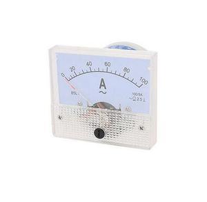 Lab AC 0-100A Range 100A Measuring Panel Analog Ammeter Amperemeter 85L1 AC Needle Current Measuring Meter