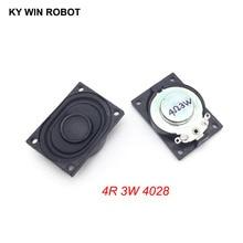 2 teile/los LCD Monitor/TV Lautsprecher Horn 3 watt 4R 4028 2840 lautsprecher 4 ohm 3 Watt 4R 3 watt 40*28mm