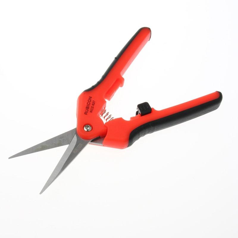 RCZ-627 Kevlar scissors trunking Electric scissors fiber optic stripper Aramid Kevlar serrated scissors FTTH Tool free shipping