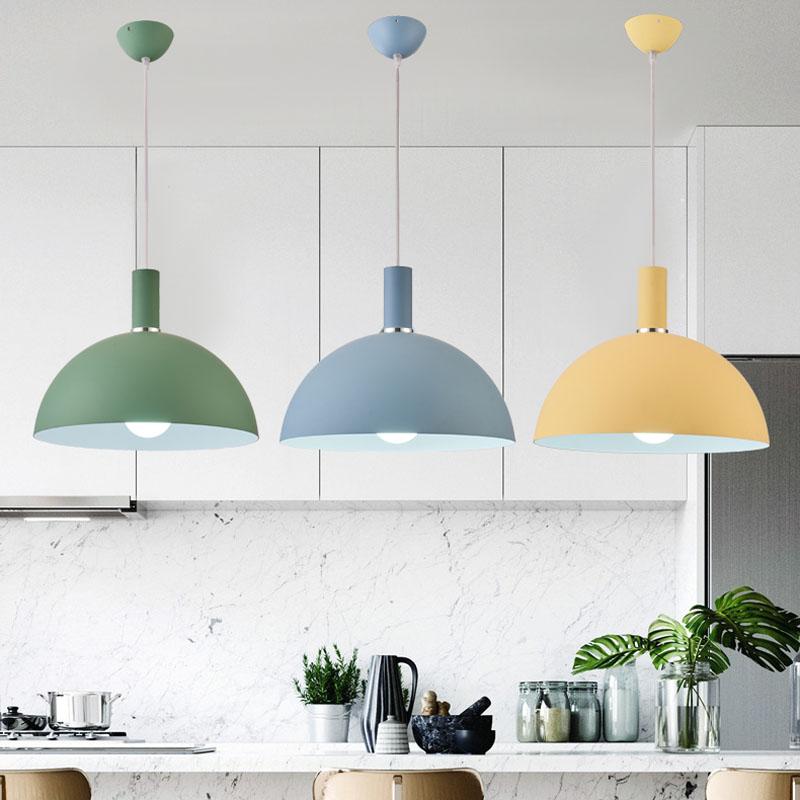 Lampe Loft nordique à lumière Vintage, chambre à manger moderne minimaliste décoration lumineuse pour la maison Restaurant E27