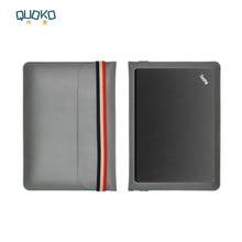 Laptop bag case Microfiber Leather Sleeve for Lenovo ThinkPad X1 Extreme 15.6 inch Coloured elastic band Style