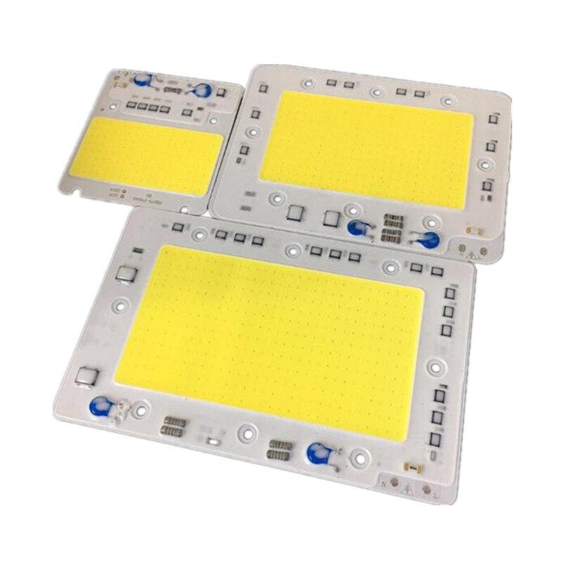 50 Вт/100 Вт/150 Вт LED COB CHIP lighting AC220V 110В светодиодный прожектор лампа SMART IC city power белый/теплый белый Бесплатная доставка