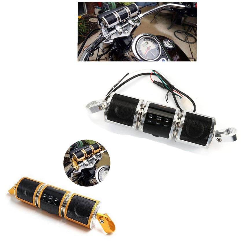 Motocicleta 12V manillar Bluetooth Audio sistema de sonido MP3 FM Radio Estéreo altavoz