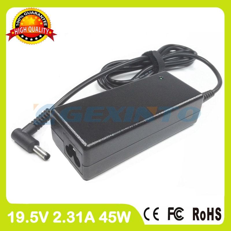 Adaptador de CA 19,5 V 2.31A cargador de portátil para HP Envy 15m-cn0000 15t-aq000 15t-aq100 15t-aq200 15t-bp000 x360 Convertible PC