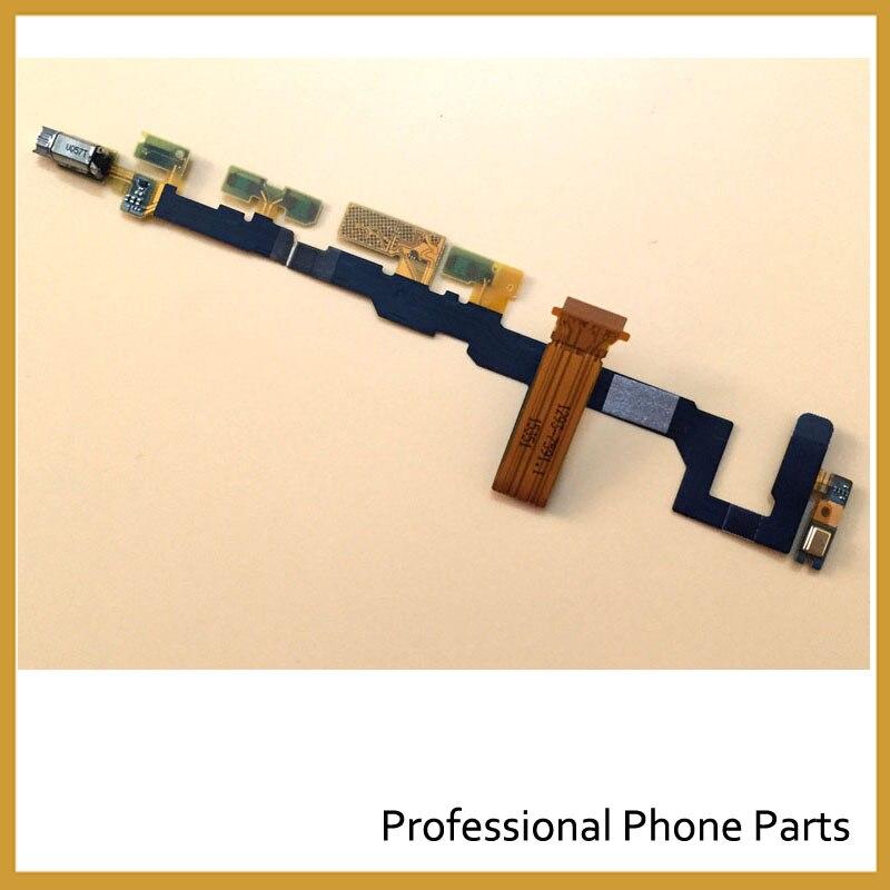 Original para Sony Xperia Z5 compacto Z5 Mini botón de volumen Motherboard Flex con vibrador de proximidad Sensor Flex Cable