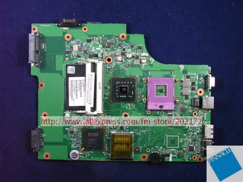 V000185020 Motherboard for Toshiba Satellite L500  L505 6050A2250301