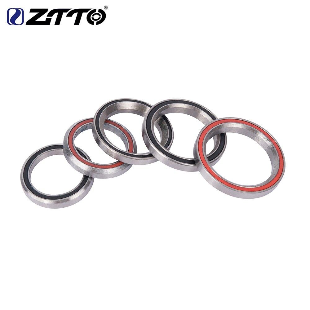 ZTTO MTB rodamiento de dirección de bicicleta cojinetes para reparación para 28,6mm 44mm 30mm 40mm bicicleta de montaña de acero 41 41,8 47 49 52mm