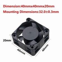 10 pièces Gdstime 4 cm 40x40x20mm en plastique petit DC 5 V sans brosse flux dair refroidissement refroidisseur ventilateur 40mm x 20mm 40*40*20mm 4020 s 2Pin