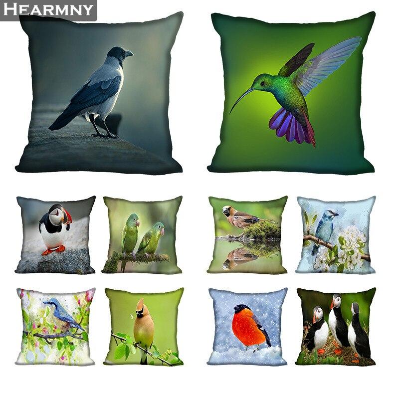 Pájaro gran oferta funda de almohada de alta calidad de Año Nuevo funda de almohada funda decorativa para cojín para boda decorativa
