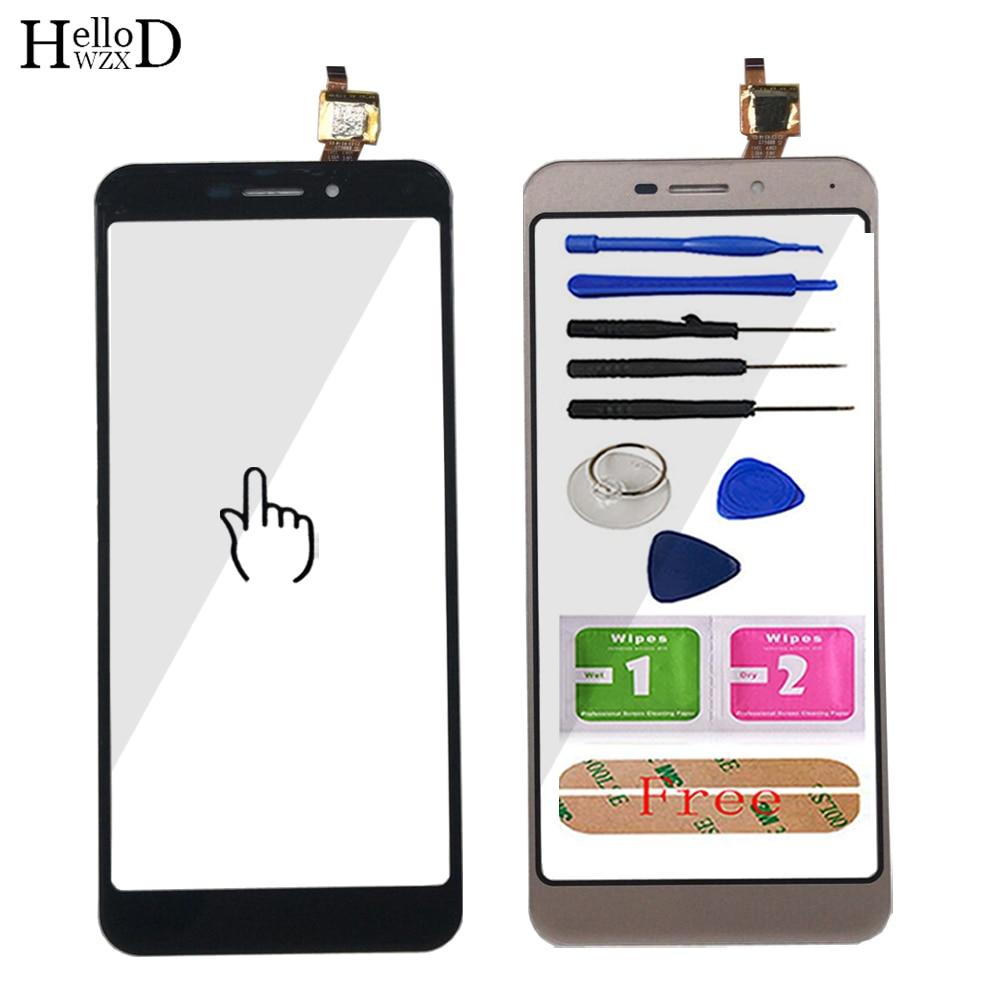 "5,5 ""Touch Panel para Cherry móvil de P3 Plus digitalizador de pantalla táctil Panel frontal de vidrio Sensor herramientas regalo"