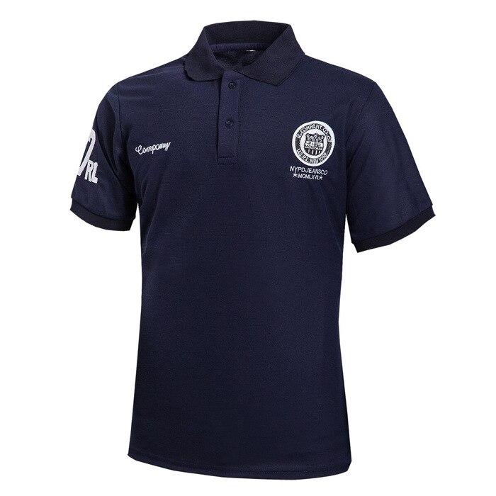 2016 Nieuwe Zomer Mode Herenkleding Slim Korte Mouw Polo Big Size Revers Korte Mouwen T-shirts