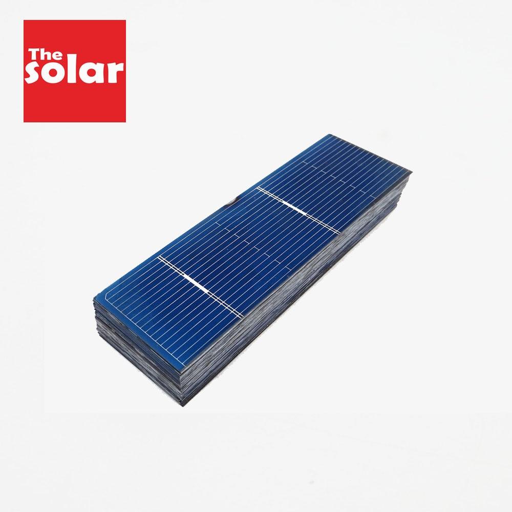 50 Uds Panel Solar 5V 6V 12V Mini Sistema Solar DIY para la batería cargadores del teléfono celular célula Solar portátil 78x26mm 0,5 V 0,37 W