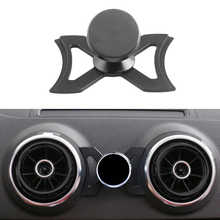 Portable Car Air Vent Holder For Smartphone /Audi A3 S3 Car GPS Stand 360 Degree Rotatable Support For Iphone Android Smartphone