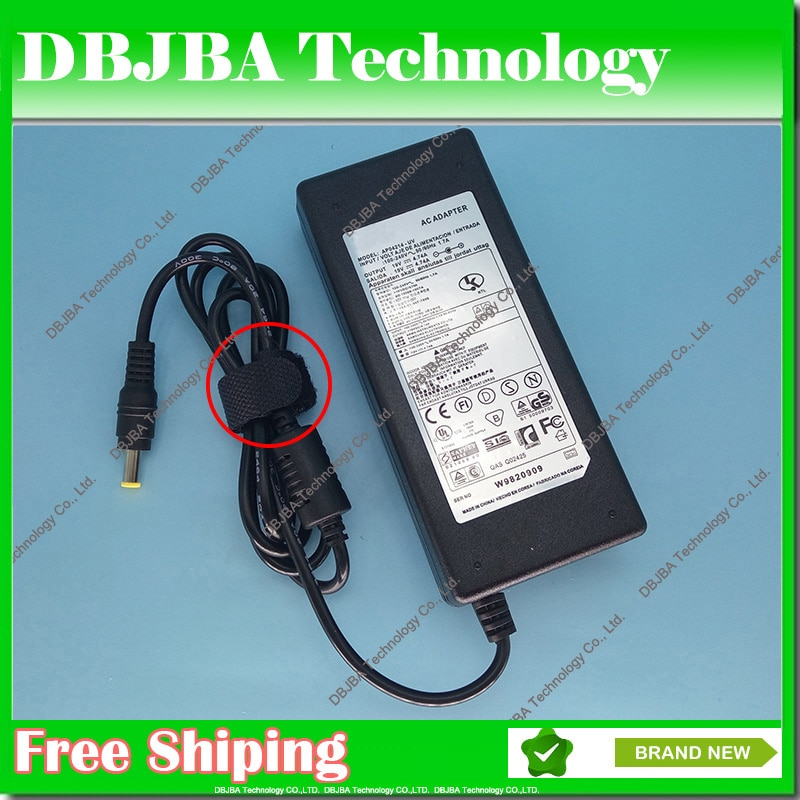 AC адаптер питания 19V 4.74A для Samsung RC720 RC730 RF409 RF410 RF411 RF509 RF510 RF511 RF512 RF710 RF711 RV408 зарядное устройство