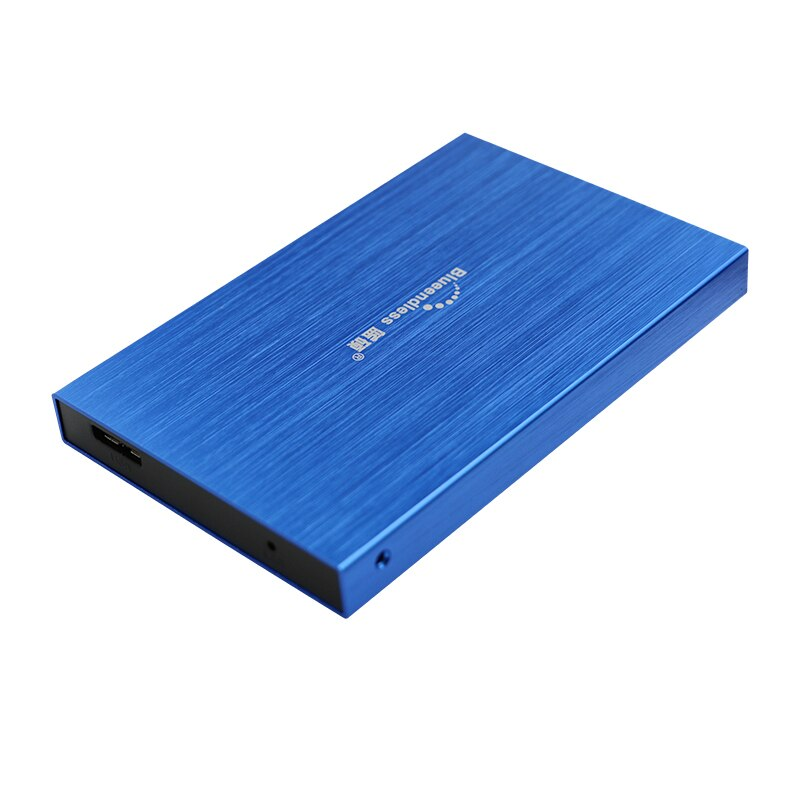 hdd enclosure sata 2.5''aluminum external hdd caddys usb micro-B 3.0 5Gbps high speed sata hard drive protect cases blueendless enlarge
