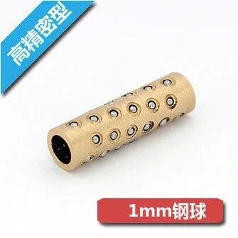 MFZH6-25 conjuntos de bolas de micromanga de alta precisión con casquillo de bola lineal BGS6-25 BK6825A K060825 854L118