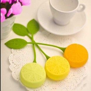 شحن مجاني سيليكون تيباج الشاي مصفاة المساعد على التحلل إبريق الشاي فنجان تصفية حقيبة الليمون نمط الساخن 200 قطعة/الوحدة qfjlA