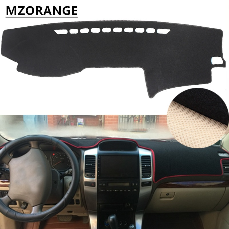 car rear trunk security shield cargo cover for toyota land cruiser prado 120 2003 2009 high qualit trunk shade security cover Dashboard Cover For Toyota Land Cruiser Prado Lexus GX470 J120 2003 - 2009 Dash Mat Dashmat Sun Shade Dash Board Cover Carpet