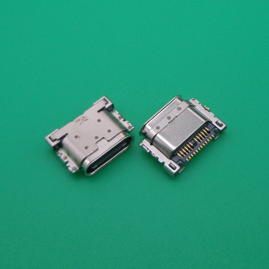 قطع شاحن هاتف LG G6 US997 VS988 H870DS G600 H870 H871 H872, 100 قطعة لـ LG G6 US997 VS988 H870DS G600 H870 H871 H872 نوع C موصل شحن usb صغير موصل مقبس الإرساء