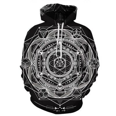 Casual Painting Print Sweatshirt Plus Size Hoodies  Men Women 3d Pullover Long Sleeve Female Tracksuit Tops