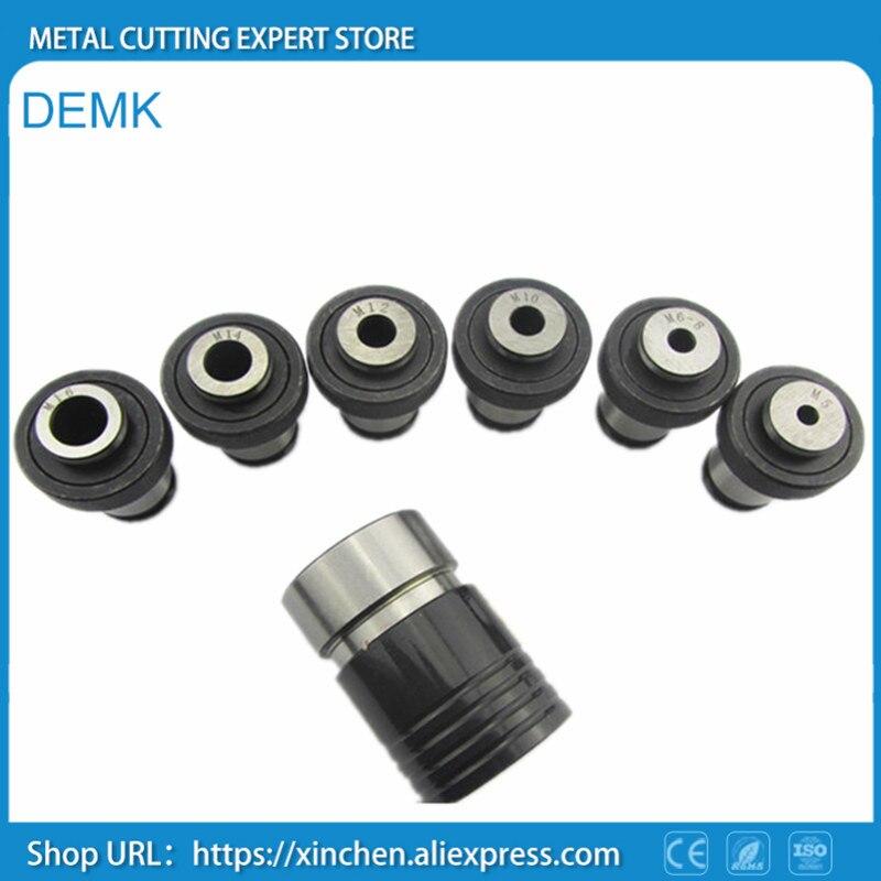 M5-M16 de mandril de cambio rápido, cono de agujero de conexión 7 Uds B18, para torno mecánico, máquina de perforación, CNC