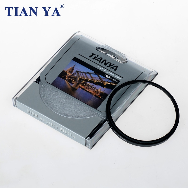 TIANYA 58mm MC protection de filtre dobjectif UV Ultra-Violet pour canon nikon sony pentax objectif de caméra