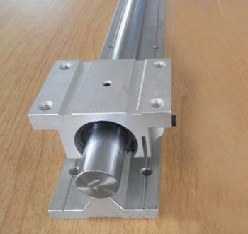Juego de riel lineal de 25mm 1xTBR25-1000mm + Block bloque para Juego de piezas CNC