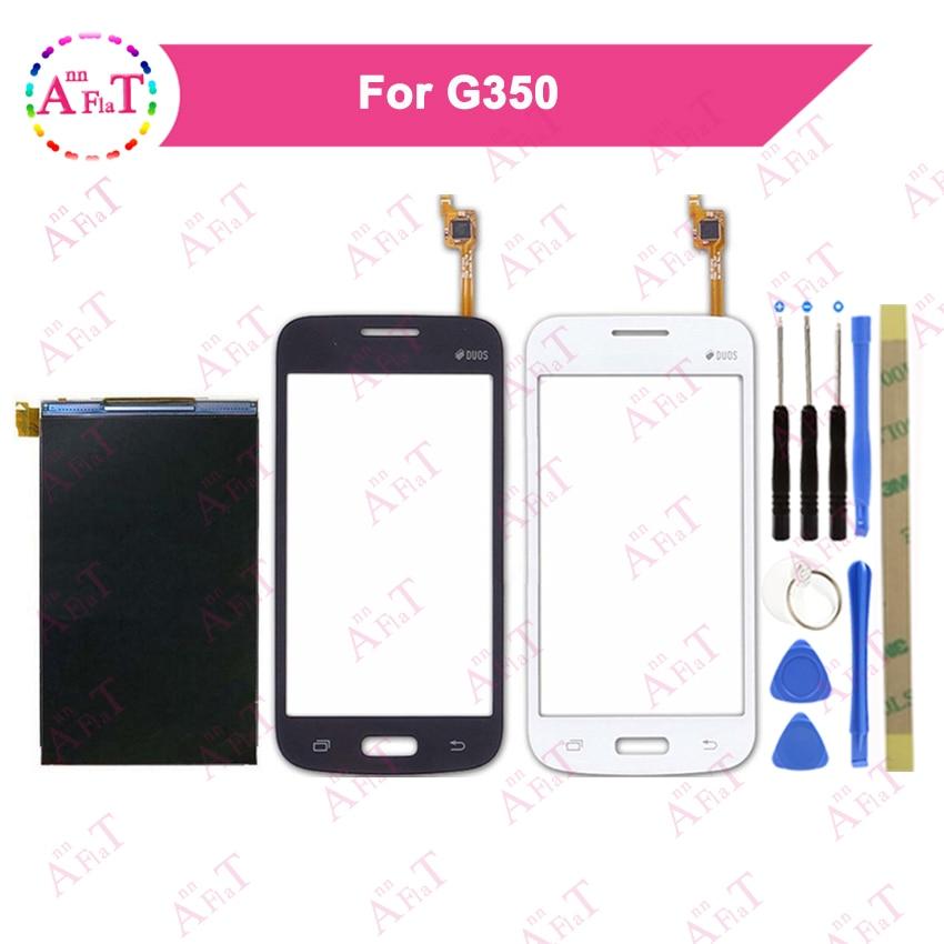 """4,0 """"para Samsung Galaxy Core Plus G3500 G350 G3502 pantalla LCD + digitalizador de pantalla táctil blanco y negro con herramienta"""