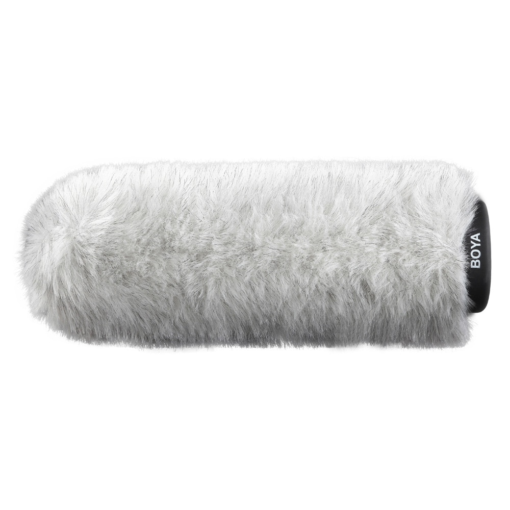 BOYA BY-P240 Furry Outdoor Interview Windshield Muff for Shotgun Capacitor Microphones enlarge