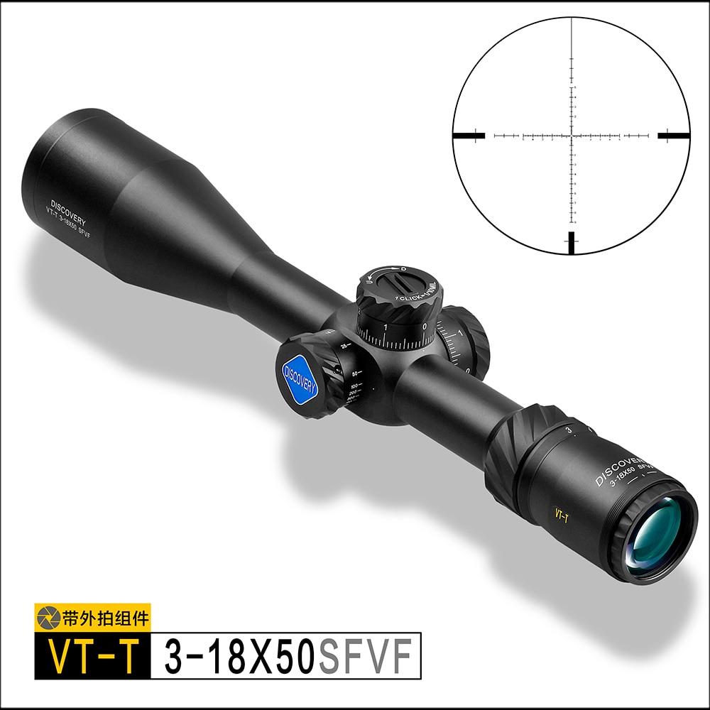 VT-T 3-18X50SFVF descubrimiento de arma óptica con objetivo de diferenciación táctica rifle de aire apuntando choque y choque