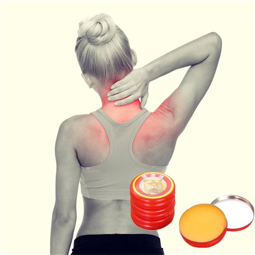 Descontado Tiger Balm Médica Eliminar A Inflamação Aliviar A Dor Tratamento de Doença Artrite Reumatóide Óleo Essencial 3g