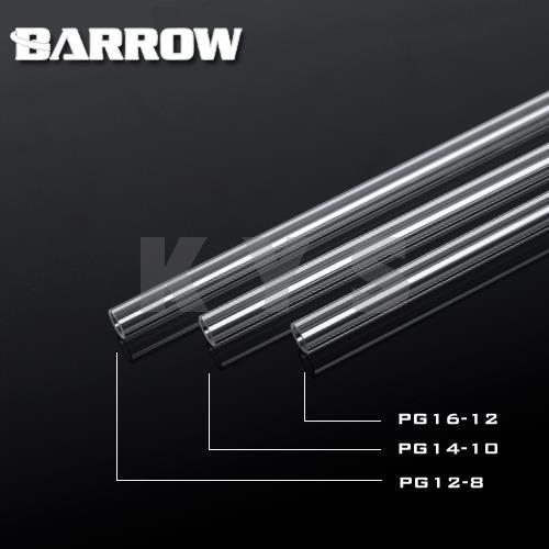 Barrow PETG Water Cooling Rigid Hard Tube 12mm 16mm 12/16mm 50cm 4pcs