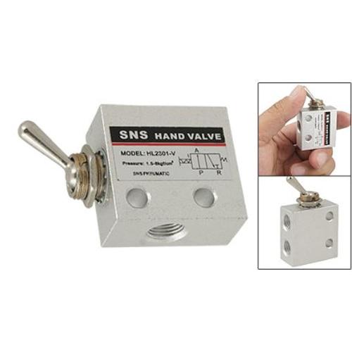 DSHA New Hot Carbon Steel Pneumatic Knob Switch Valve HL-2301-V