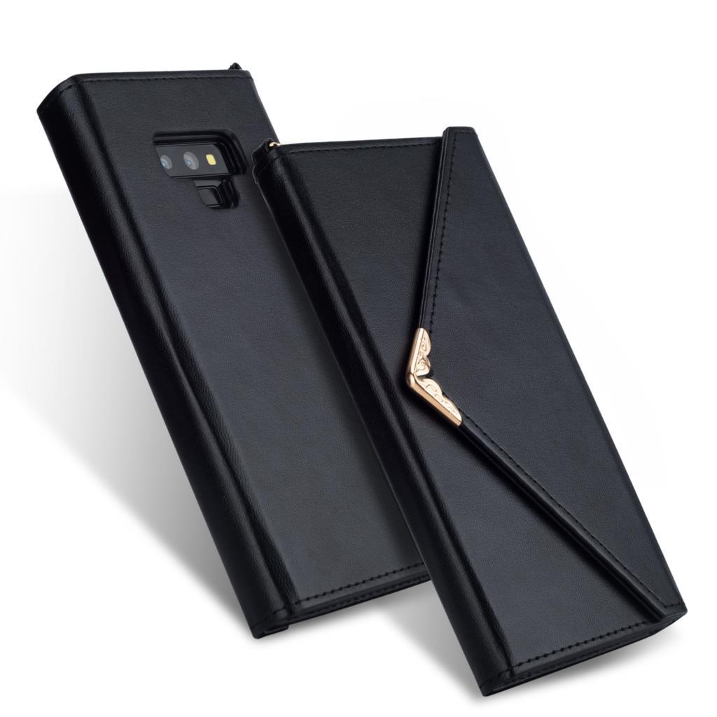 Flip caso envelope de couro para samsung s20 ultra nota 10 plus 9 8 s9 s8 s10 plus s10e caso carteira para samsung s7 edge telefone