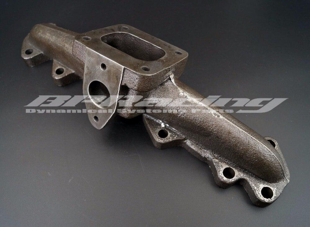 Colector TURBO de hierro fundido para 93-98 TOYOTA supra 2JZ-GTE ENINGE T4 brida