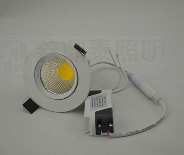 Carcasa blanca LED COB downlight regulable 7W 10W 15W techo empotrado led...