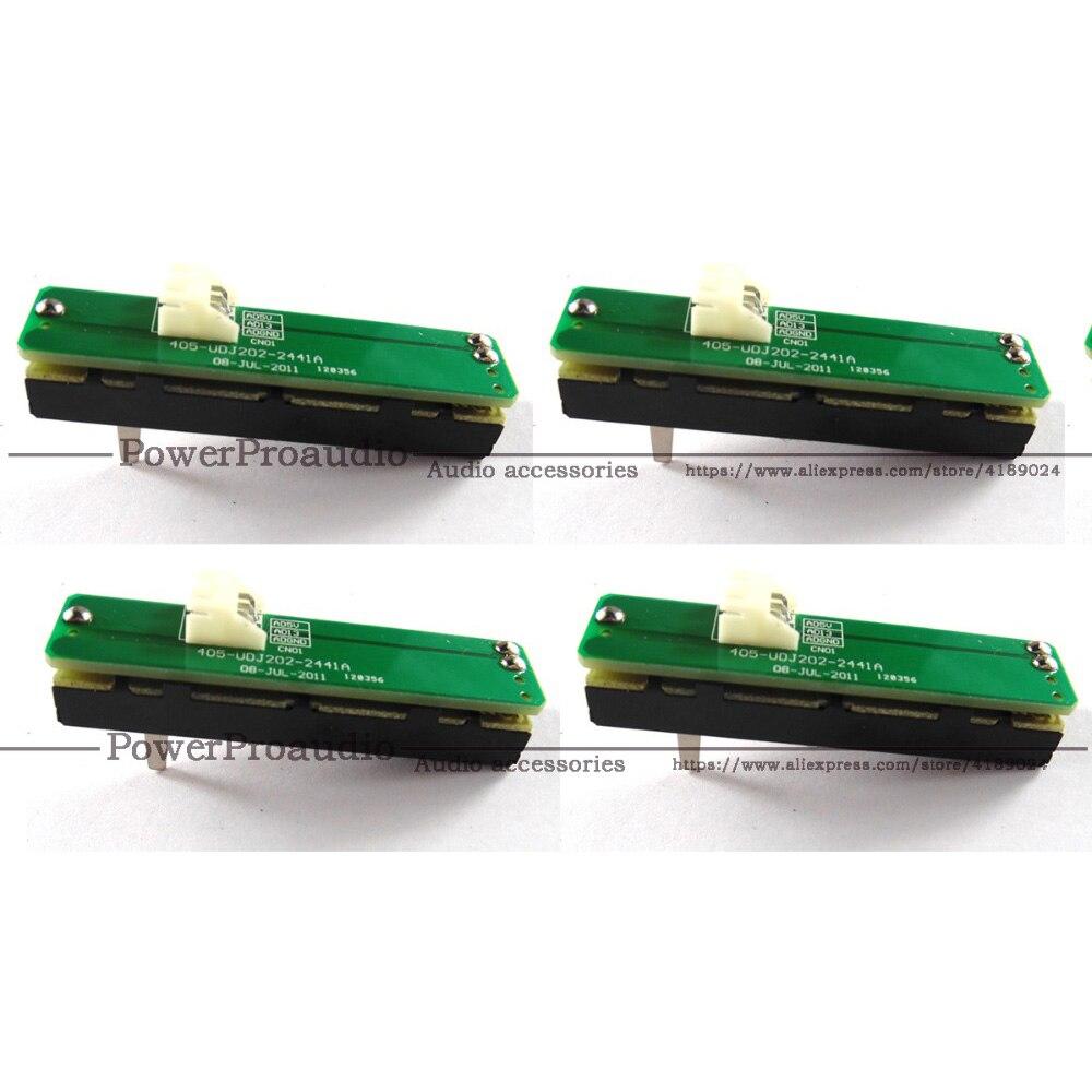 4 piezas Original Crossfader PCB ASSY 704-DJM250-A032-HA para Pioneer DDJ-SR SX DJM-250