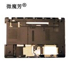 Novo caso inferior para gateway nv53a nv59c base capa ap0cb000400 caso inferior preto