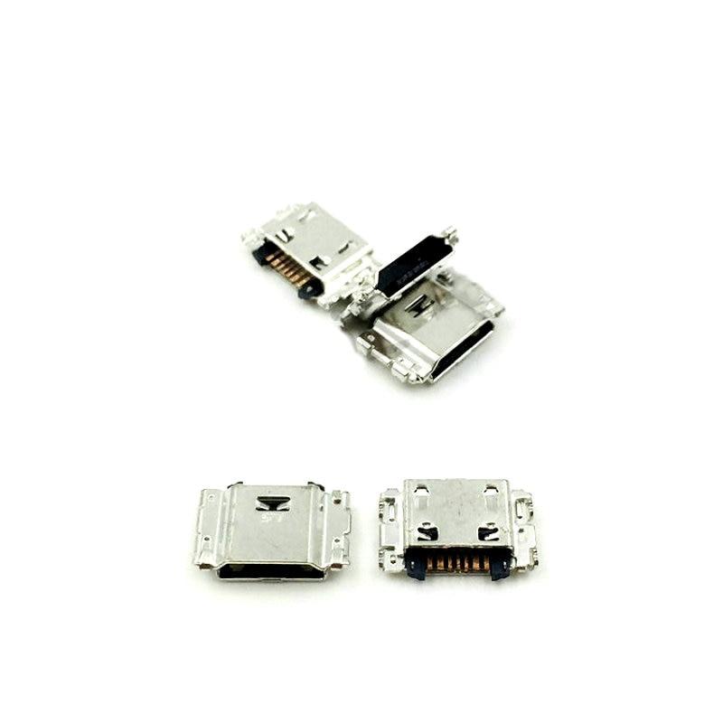 10 pçs/lote, plugue Micro USB Cobrando Conector de Porta Tomada Para Samsung J5 J1 SM-J100 J100 J500 J3 J300F J5008 J7 J700 J7008