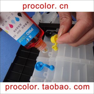 PROCOLOR CISS ink refill kit (Dye ink) for EPSON printer XP-205 XP-205 XP-215 XP 215 XP-415 XP 415 XP-305 XP 305 XP-405A XP 405