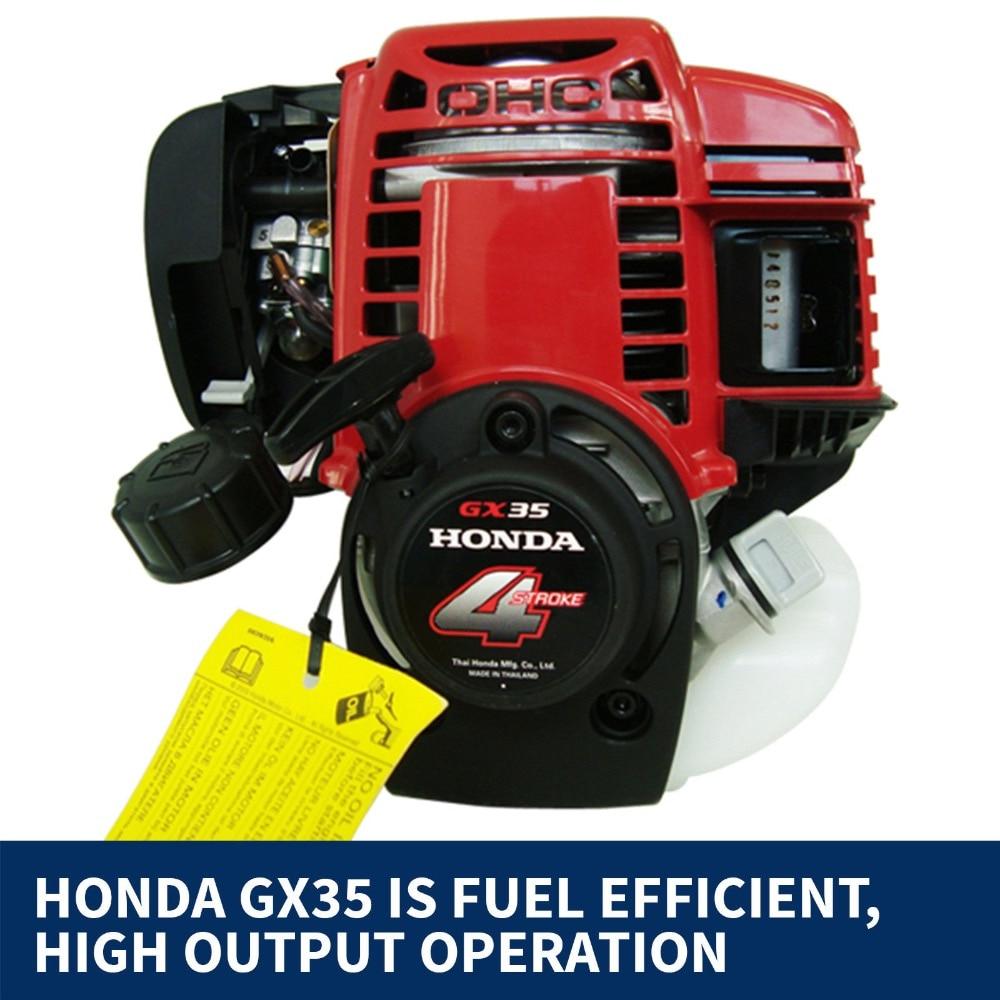 Бензиновый 4-тактный двигатель бензин для кустореза GX35 ДВИГАТЕЛЬ 35.8cc CE