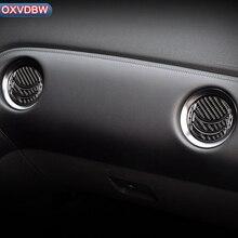 Carbon Fiber Centrale Airconditioning Uitlaat Voor nissan GTR R35 interieur trim AC frame sticker 2009-2015 Auto-accessoires styling