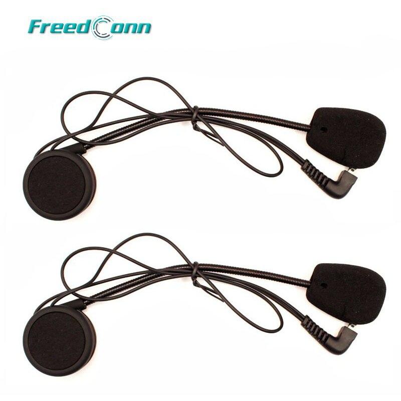 2 комплекта наушников микрофон Аксессуары жесткий наушник костюм для T-COMFM T-COMSC Коло FDC-01VB мотоциклетный шлем домофон