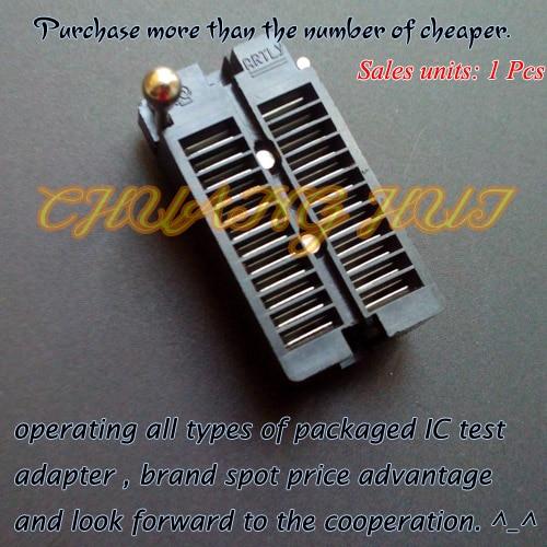 DIP24 test socket 24pin 2.54mm ic socket