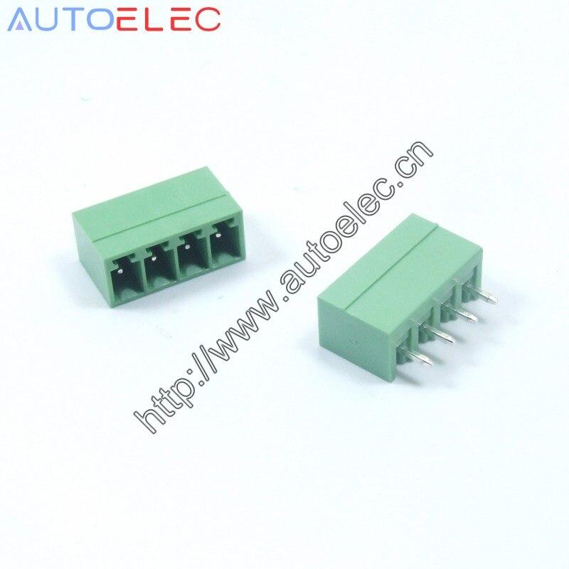 500 pçs/lote 3.81mm pitch 2 4 p pcb plug-in blocos de terminais pcb conector macho PCB Pluggable 2EDGK MCV1.5/4G-3.81 1803442
